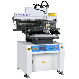 S600 semi-auto screen solder paste printer machine