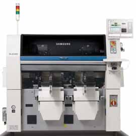 Samsung SLM 120 led chip shooter lens chip mounter for LED assembly line