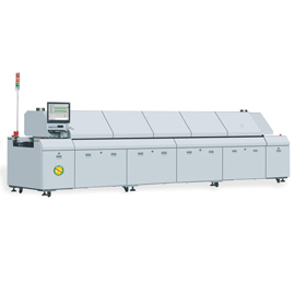 KTE-800D dual rail smd lead free reflow oven equipment