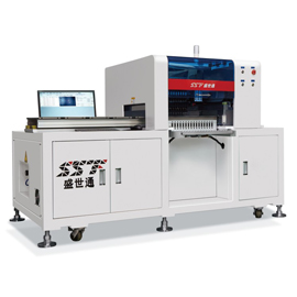 6 heads smt pick and place machine for 1.2m pcb
